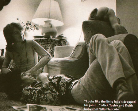 Rolling Stones Mick Taylor Tarlé